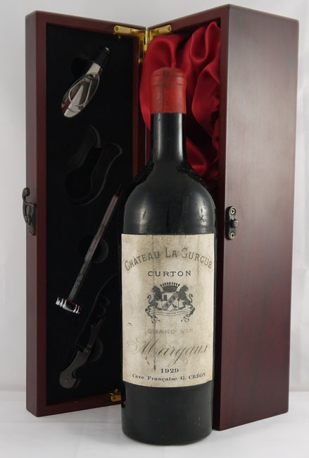 Product image of 1929 Chateau Gurgue 1929 Margaux Cru Bourgeois from Vintage Wine Gifts