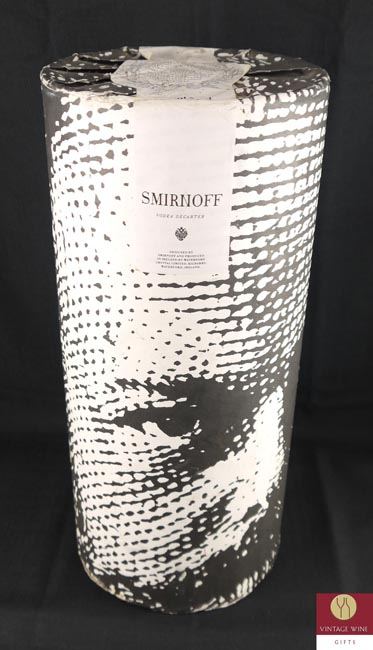 Product image of 1980's Smirnoff Vodka Waterford Czar Alexander III crystal decanter from Vintage Wine Gifts