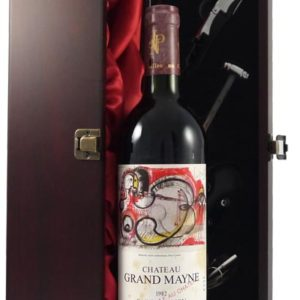 Product image of 1982 Chateau Grand Mayne 1982 Paul Cartier Artist Series label from Vintage Wine Gifts