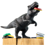Product image of Dinosaur Bottle Opener - Black from Iwantoneofthose.com UK