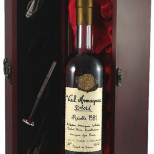 Product image of 1981 Delord Freres Bas Vintage Armagnac 1981 (50cl) from Vintage Wine Gifts