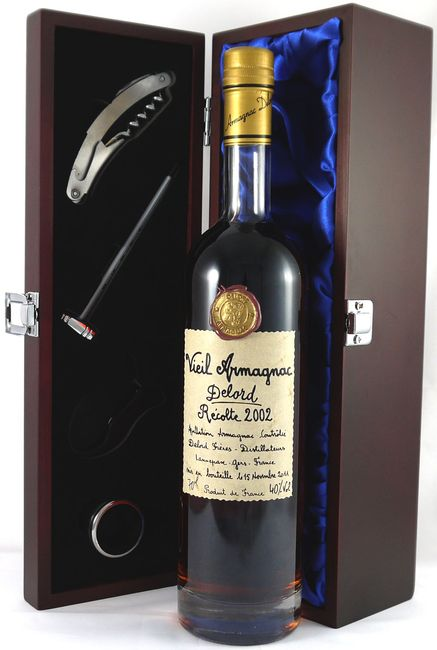 Product image of 2002 Delord Freres Bas Vintage Armagnac 2002 (70cl) from Vintage Wine Gifts