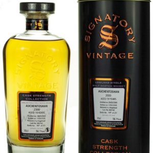 Product image of Auchentoshan 19 Year Old 2000 Signatory Cask Strength from The Whisky Barrel