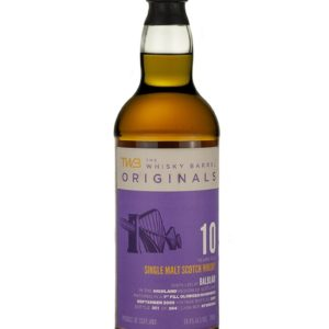 Product image of Balblair 10 Year Old 2009 TWB Originals from The Whisky Barrel