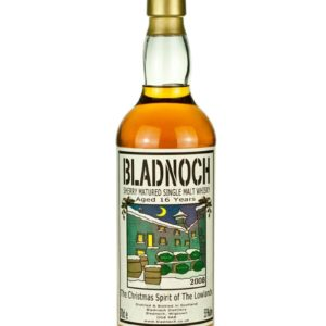 Product image of Bladnoch 16 Year Old Christmas Spirit 2008 from The Whisky Barrel