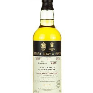 Product image of Blair Athol 11 Year Old 2007 Berry Bros & Rudd from The Whisky Barrel