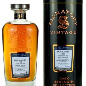 Product image of Bruichladdich 27 Year Old 1990 Signatory Cask Strength from The Whisky Barrel