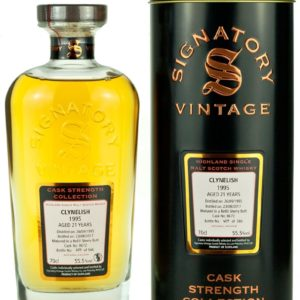 Product image of Clynelish 21 Year Old 1995 Signatory Cask Strength from The Whisky Barrel