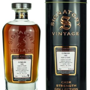 Product image of Clynelish 22 Year Old 1995 Signatory Cask Strength from The Whisky Barrel