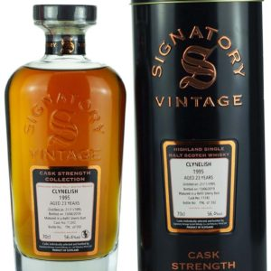 Product image of Clynelish 23 Year Old 1995 Signatory Cask Strength from The Whisky Barrel