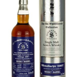 Product image of Glenallachie 11 Year Old 2007 Signatory Exclusive from The Whisky Barrel