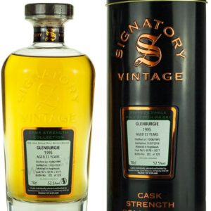 Product image of Glenburgie 23 Year Old 1995 Signatory Cask Strength from The Whisky Barrel