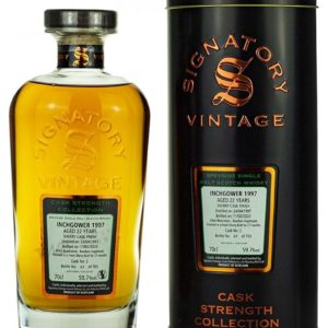 Product image of Inchgower 22 Year Old 1997 Signatory Cask Strength from The Whisky Barrel