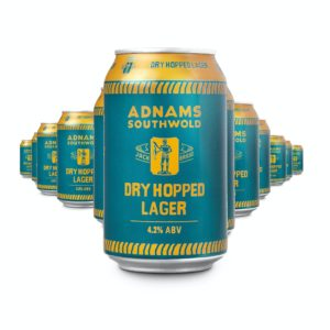 Product image of Jack Brand Dry Hopped Lager Cans from Adnams