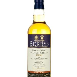 Product image of Littlemill 25 Year Old 1988 Berry's Own from The Whisky Barrel