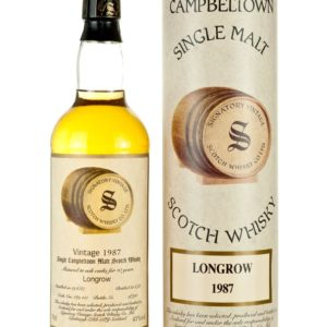 Product image of Longrow (Springbank) 10 Year Old 1987 Signatory from The Whisky Barrel