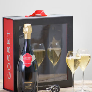 Product image of Luxury Gosset Champagne Gift Set from Interflora