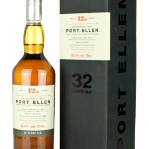 Product image of Port Ellen 32 Year Old 12th Annual Release from The Whisky Barrel