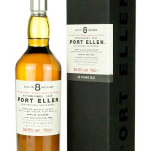 Product image of Port Ellen 8th Annual Release 29 Year Old from The Whisky Barrel