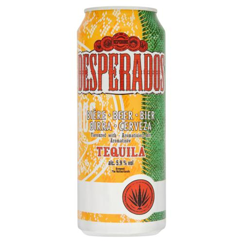 Product image of 24 X Desperados Tequila Lager 50cl from Drinks&Co UK
