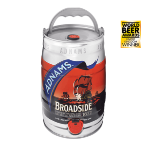 Product image of Adnams Broadside Mini-Keg from Adnams