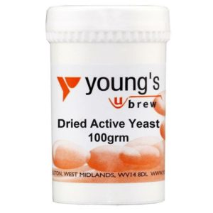 Product image of Youngs 100g Dried Active Yeast from Philip Morris & Son