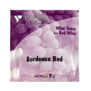 Product image of Youngs 5g Bordeaux Red Wine Yeast Sachet from Philip Morris & Son