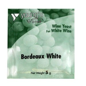 Product image of Youngs 5g Bordeaux White Wine Yeast Sachet from Philip Morris & Son