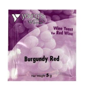 Product image of Youngs 5g Burgundy Red Wine Yeast Sachet from Philip Morris & Son
