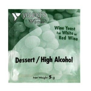 Product image of Youngs 5g High Alcohol / Dessert Wine Yeast Sachet from Philip Morris & Son