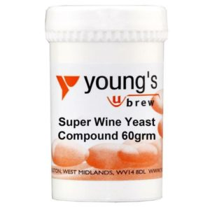 Product image of Youngs 60g Super Wine Yeast Compound from Philip Morris & Son