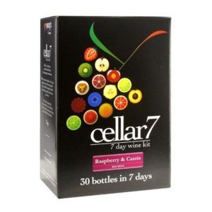 Product image of Youngs Cellar 7 Fruit Raspberry & Cassis 30 Bottle Kit from Philip Morris & Son