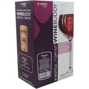 Product image of Youngs WineBuddy Merlot 30 Bottle Kit from Philip Morris & Son