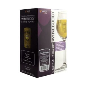 Product image of Youngs WineBuddy Pinot Grigio 30 Bottle Kit from Philip Morris & Son