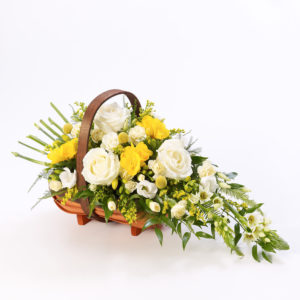 Product image of Mixed Basket - Yellow and White from Interflora