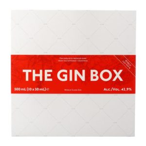 Product image of 10 X The Gin Case World Gin Tour 50ml from Drinks&Co UK