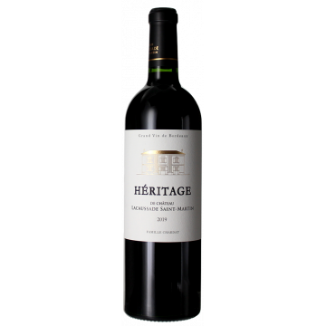 Product image of HERITAGE - CHATEAU LACAUSSADE SAINT MARTIN 2019 from Vinatis UK