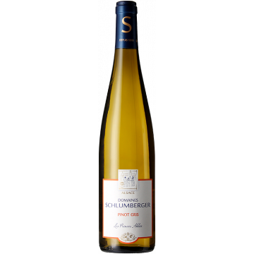 Product image of PINOT GRIS 2018 - LES PRINCES ABBES - DOMAINE SCHLUMBERGER from Vinatis UK