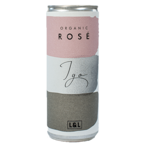 Product image of 4 x IGO Organic Rosé Cans from Adnams