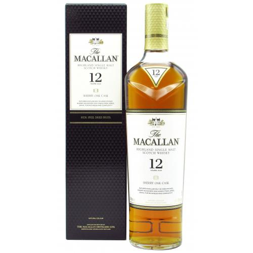 Product image of The Macallan Sherry Oak Cask 12 Year old from Drinks&Co UK